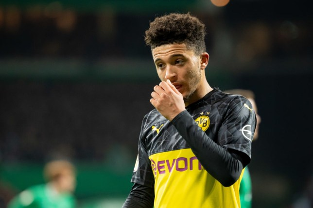 Several clubs are in hot pursuit of wonderkid Jadon Sancho (Picture: Getty Images)