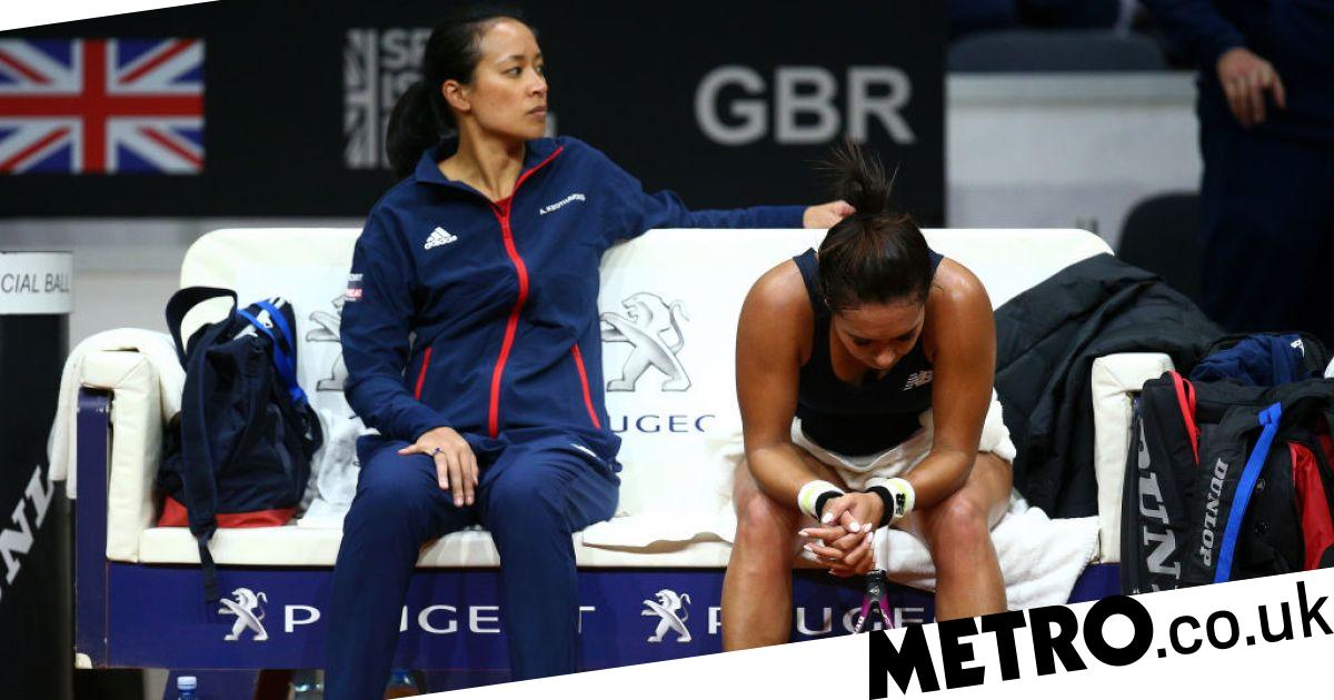 Great Britain have mountain to climb as Slovakia take 2-0 lead in Fed Cup tie