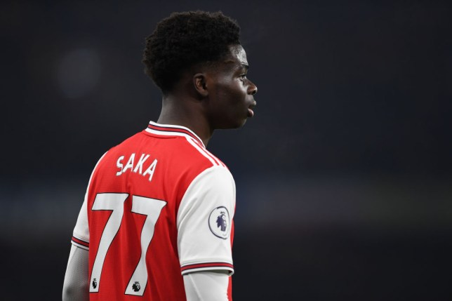 Saka has burst onto the scene for Arsenal this season (Picture: Getty Images)