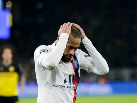 Neymar blames 'scared' PSG for his bad Champions League performance against Borussia Dortmund