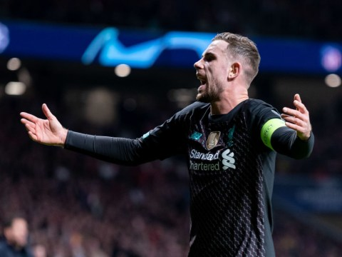 Liverpool captain Jordan Henderson ruled out for three weeks with hamstring injury