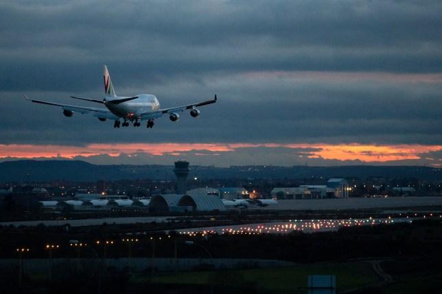 EU Evacuees From Wuhan Arrive In Madrid After Stop In UK.