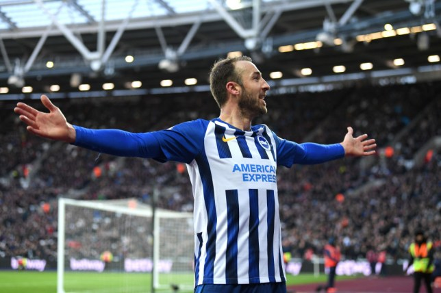 Brighton's Glenn Murray was linked with a shock January transfer to Manchester United