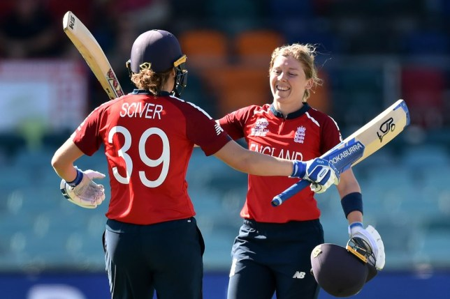 Heather Knight starred with the bat as England smashed Thailand