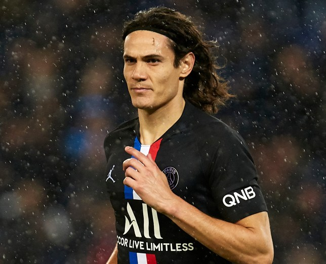 Edinson Cavani was heavily linked with Chelsea this January