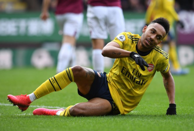 Pierre-Emerick Aubameyang is wanted by Barcelona