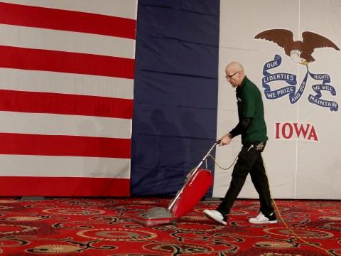 Where is Iowa and who won the Iowa caucus?