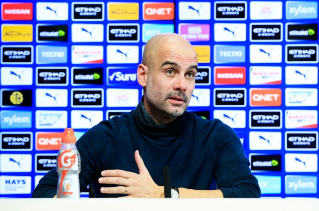 Guardiola has been teetering on the edge of a move away for the whole season (Picture: Getty Images)