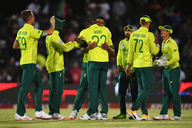 South Africa clinched a surprising victory over England in the first T20