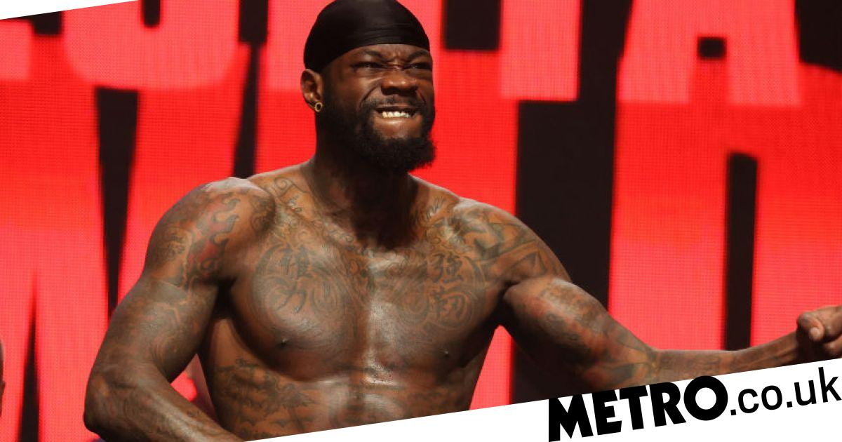 David Haye reacts to Deontay Wilder's weight gain for Tyson Fury rematch - metro