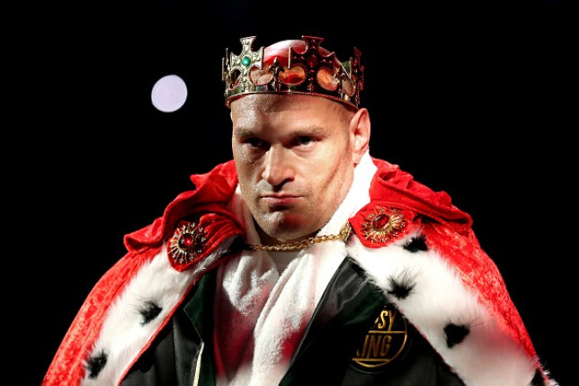 Tyson Fury has not been named in The Ring Magazine's top 10 pound-for-pound boxers