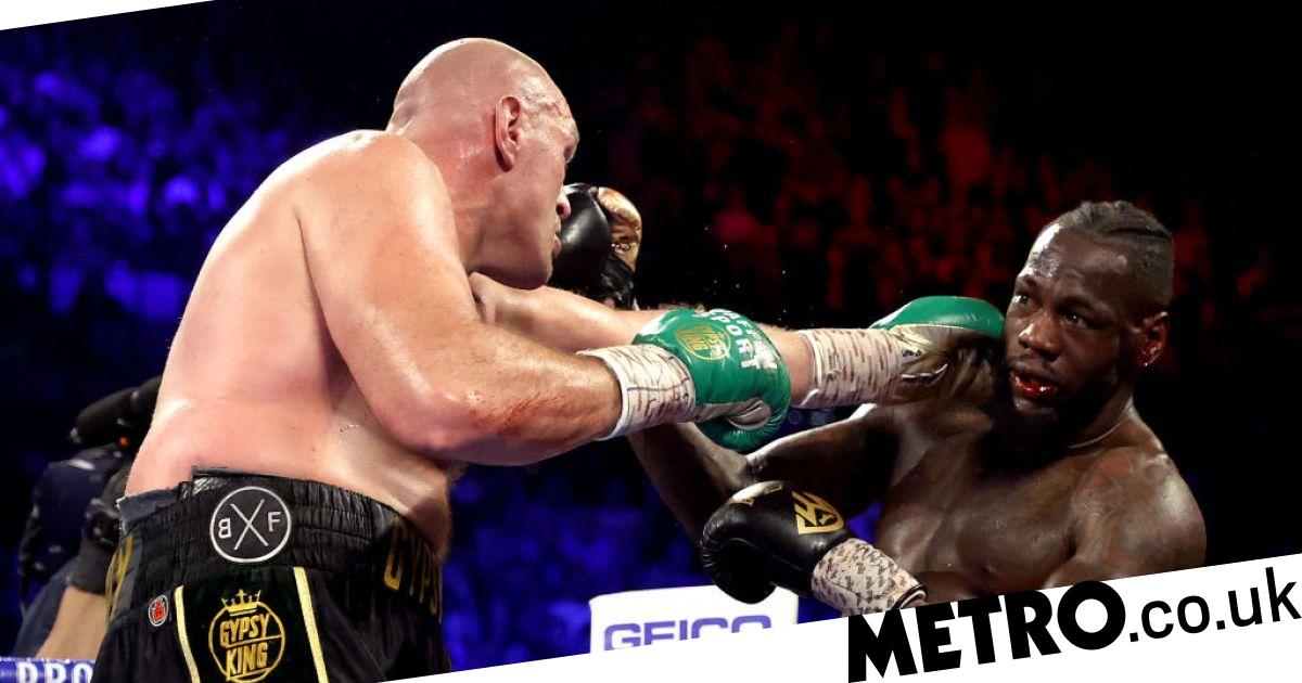 Eddie Hearn claims Deontay Wilder would step aside for Anthony Joshua-Tyson Fury