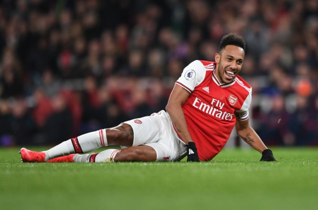 Pierre-Emerick Aubameyang has less than 18 months remaining on his Arsenal contract