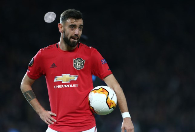 Bruno Fernandes continued his fine start to his Manchester United career against Brugge