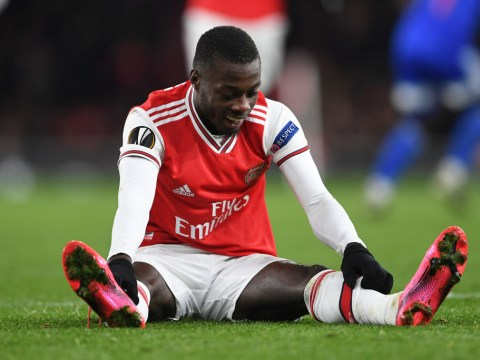 Arsenal boss Mikel Arteta is having to teach Nicolas Pepe the absolute basics of how to be a winger