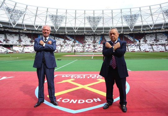 David Gold and David Sullivan have faced heavily criticism from West Ham fans