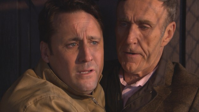 Tony and Edward in Hollyoaks