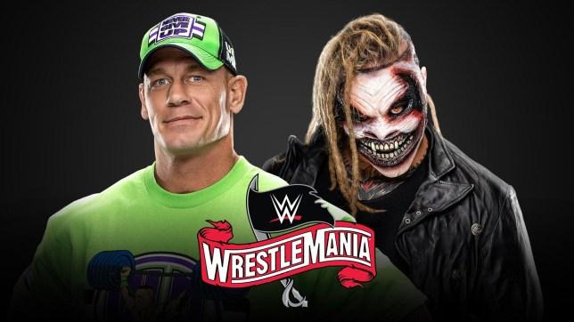 Hollywood star John Cena will face The Fiend Bray Wyatt at WrestleMania
