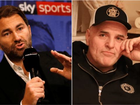 Eddie Hearn responds to £500m demand from Tyson Fury's father for Anthony Joshua fight