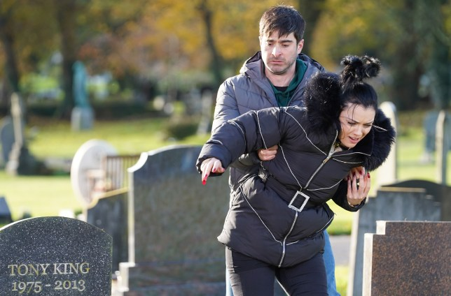 Leo and Whitney in EastEnders