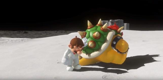 Mario and Bowser Super Mario Odyssey