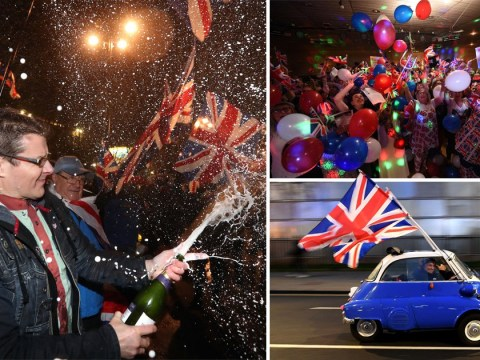 How Britain celebrated and commiserated as nation finally leaves European Union
