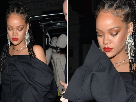 Rihanna blesses star-studded Baftas after-party with her presence at 4.30am