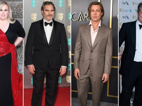 What did Brad Pitt, Joaquin Phoenix, Rebel Wilson and Hugh Grant say during their Bafta speeches?
