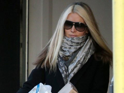 Caprice Bourret looks sombre as she's seen for first time since quitting Dancing On Ice over mental health fears