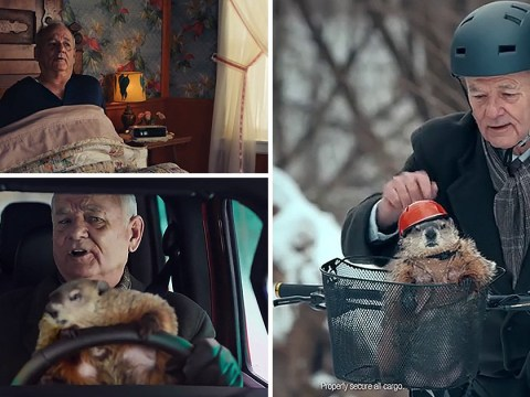 Bill Murray relives Groundhog Day in Super Bowl ad and it will warm the cockles of your heart