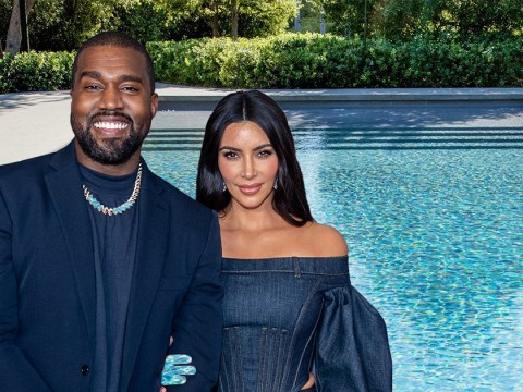 Kim Kardashian has never used her pool and Kanye West's shocked reaction is all of us