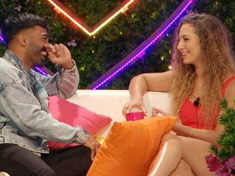 Love Island's Nas Majeed admits Eva Zapico is 'more his type' than Demi Jones as Casa Amor turns heads