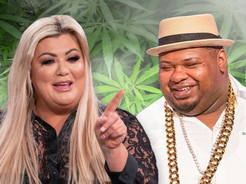 Gemma Collins fled The Big Narstie show because studio 'stank of weed' and he fell asleep mid-interview