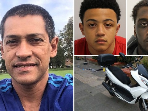Three teens jailed over 'cowardly' killing of Uber Eats driver for his moped