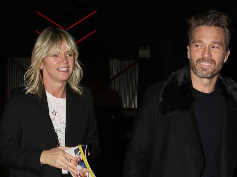 Zoe Ball heads out with ex-boyfriend Michael Reed sparking speculation they could be dating again