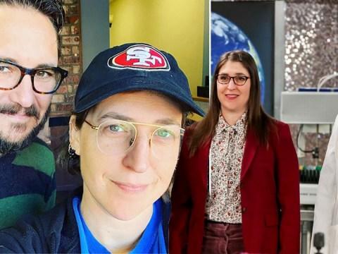 The Big Bang Theory's Mayim Bialik celebrates 'geek love' as she reunites with Wil Wheaton