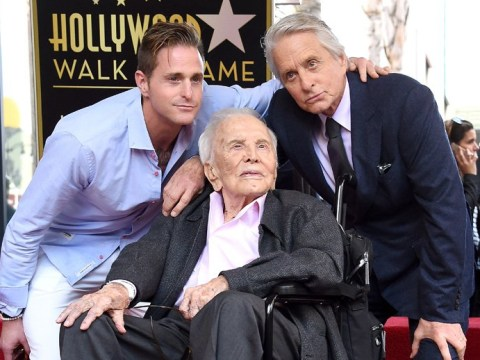 Kirk Douglas, actor and father of Michael Douglas, dies aged 103
