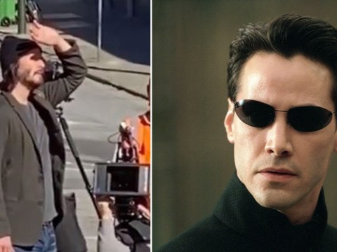 Keanu Reeves begins filming for The Matrix 4 in San Francisco as he reprises his role of Neo