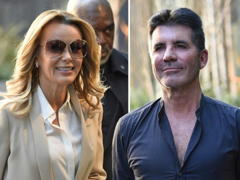 Simon Cowell is still showing off the results of his health kick as he heads out with Amanda Holden to Britain's Got Talent auditions