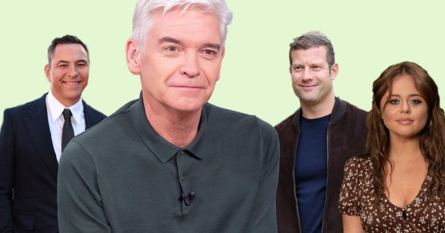 Celebs praise Phillip Schofield for coming out as gay