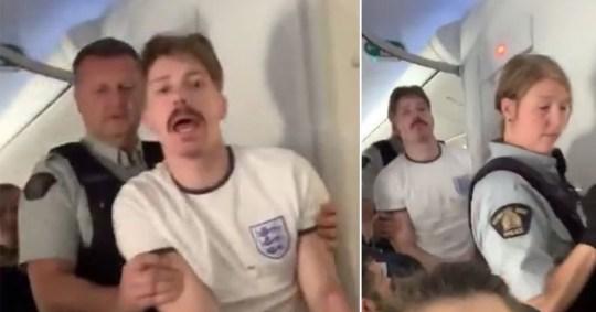 Ben Iontton was fined £58,000 for a drunken plane outburst