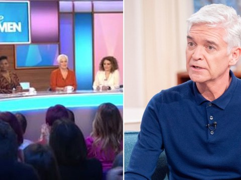 Loose Women stars support 'inspiring' Phillip Schofield as This Morning star comes out as gay: 'It was a surprise to us'