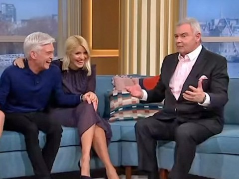 Eamonn Holmes criticised over 'tasteless' hot tub joke during Phillip Schofield's coming out announcement
