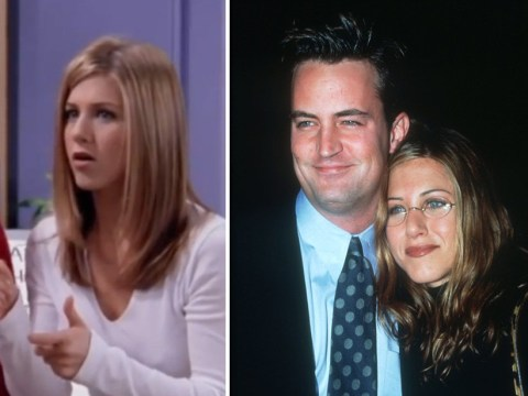 Jennifer Aniston uses Matthew Perry's Instagram arrival for hilarious Friends callback