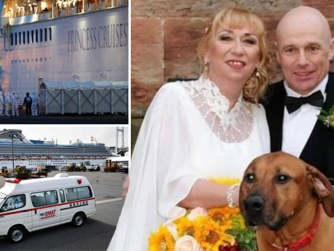 Wife of Brit who caught coronavirus on honeymoon cruise begs to join him in hospital
