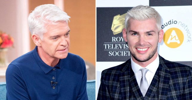 Kieron Richardson and Phillip Schofield