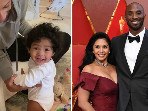 Kobe Bryant's wife Vanessa shares sweet clip of baby daughter Capri's milestone: 'With her daddy's eyes'