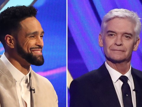 Dancing On Ice's Ashley Banjo praises Phillip Schofield live on air as he returns to Dancing On Ice after coming out
