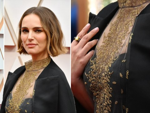 Oscars 2020: Natalie Portman's red carpet gown honours female directors not nominated in feminist statement