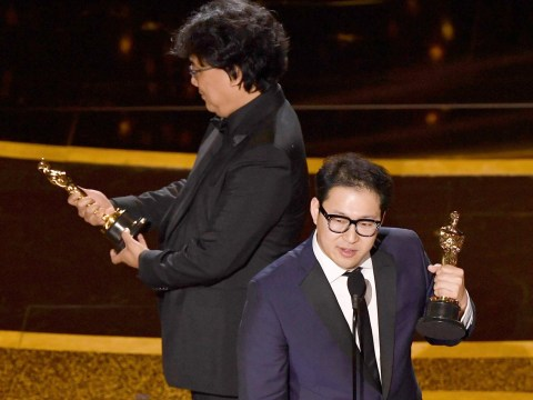 Oscars 2020: Bong Joon Ho giggling at his award for Parasite is the cutest thing ever